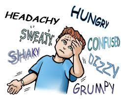 ilustrasi gejala hipoglikemia: tubuh gemetar, pusing, keringat dingin. (foto sumber: medicastore.com)